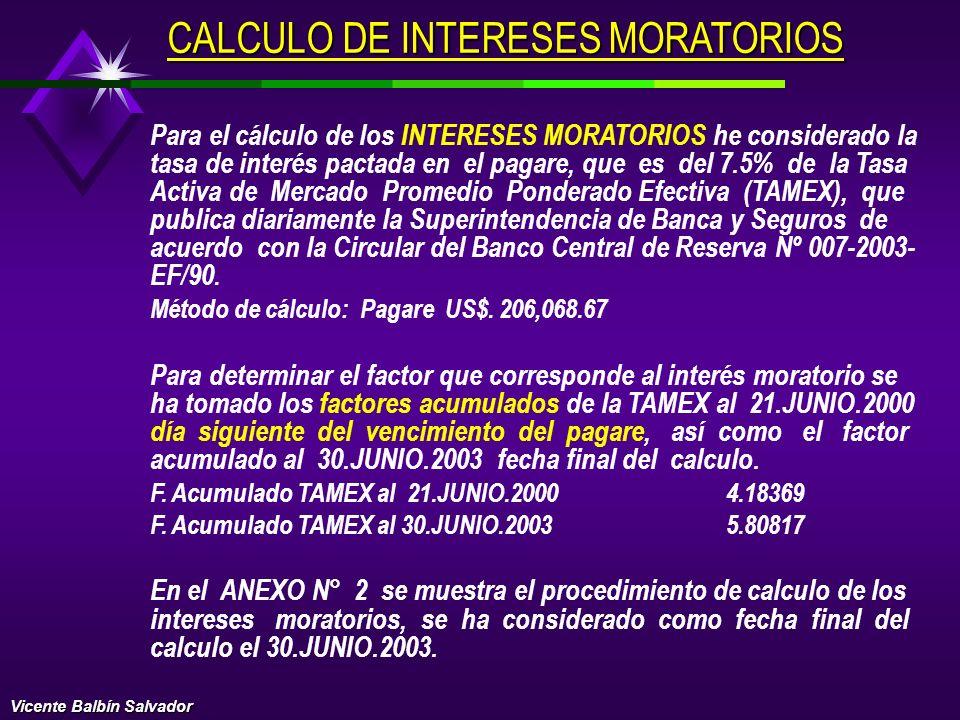 CALCULO DE INTERESES N/360 FP= ( 1 + i ) - 1 100 Donde: FP = Factor promedio ponderado I = Tasa de interés N = Número de días de la inversión Reemplaz
