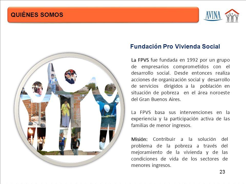 La FPVS La FPVS fue fundada en 1992 por un grupo de empresarios comprometidos con el desarrollo social.