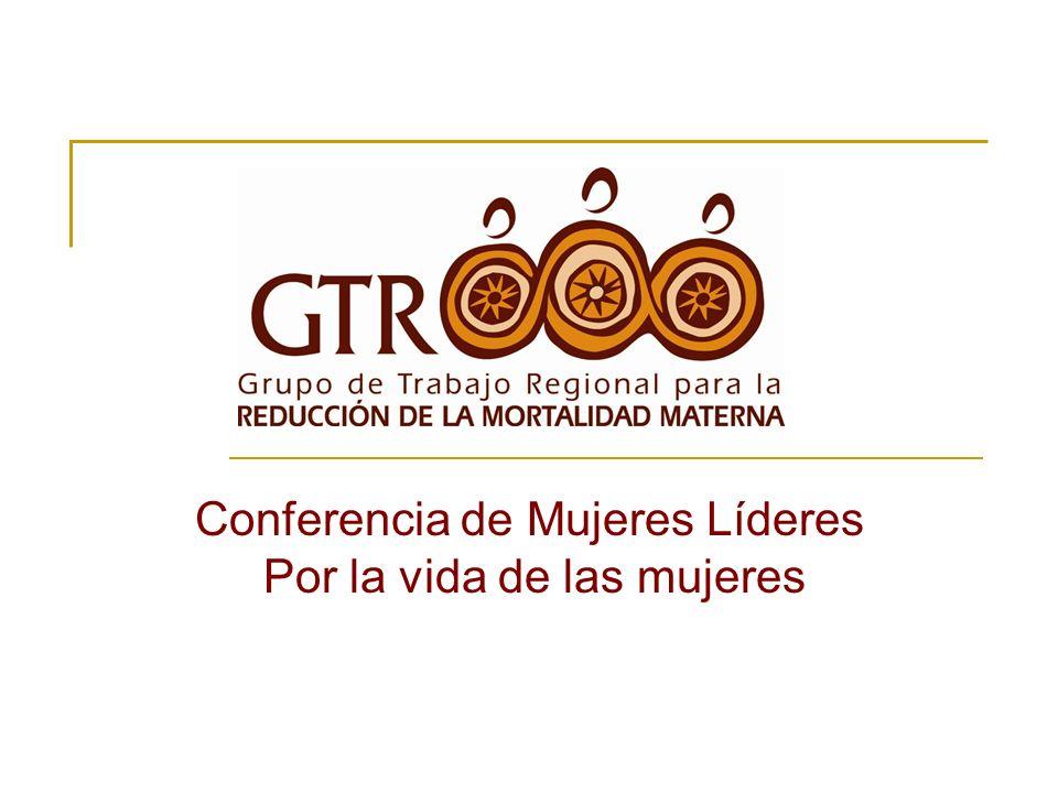 Conferencia de Mujeres Líderes Por la vida de las mujeres