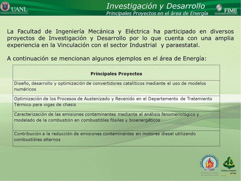 Presentado por: Ing. Esteban Báez Villarreal Director UNIVERSIDAD AUTÓNOMA DE NUEVO LEÓN Facultad de Ingeniería Mecánica y Eléctrica La Facultad de In