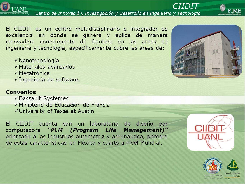 Presentado por: Ing. Esteban Báez Villarreal Director UNIVERSIDAD AUTÓNOMA DE NUEVO LEÓN Facultad de Ingeniería Mecánica y Eléctrica Centro de Innovac
