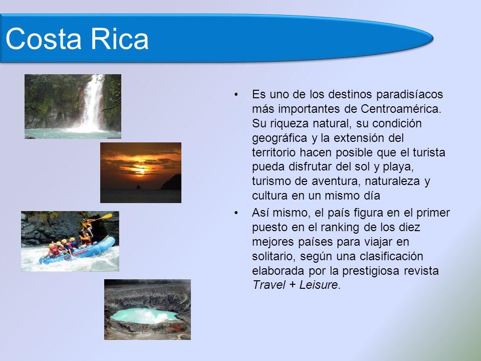 Es uno de los destinos paradisíacos más importantes de Centroamérica.