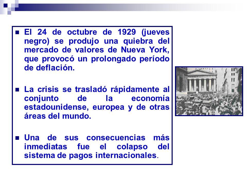 1932: 15 millones de parados en Estados Unidos.6 millones en Alemania.