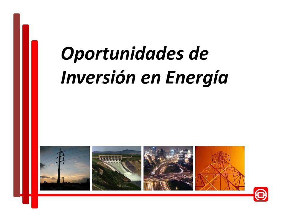 Oportunidades de Inversión en Energía