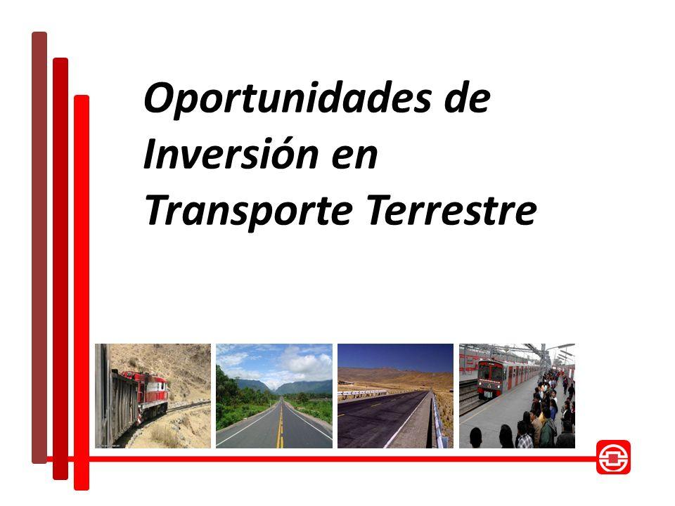 Oportunidades de Inversión en Transporte Terrestre
