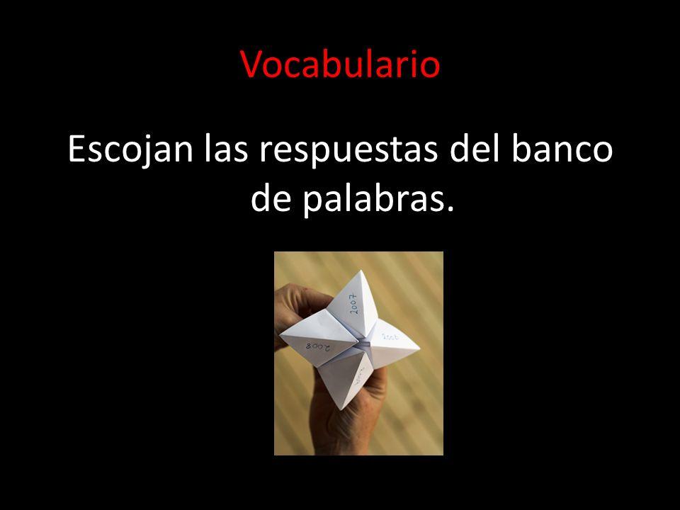 3U3L2 Vocabulario y Gramática