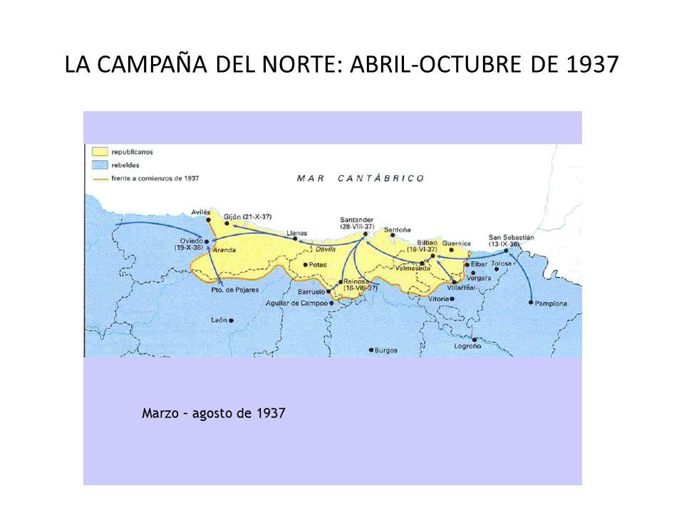 LA CAMPAÑA DEL NORTE: ABRIL-OCTUBRE DE 1937