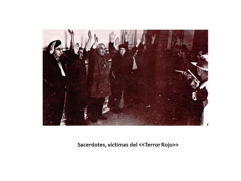 Sacerdotes, víctimas del >