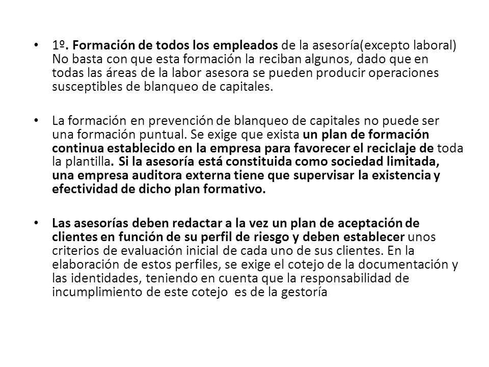 Se conservará copia de los documentos exigibles en la aplicación de la diligencia debida.