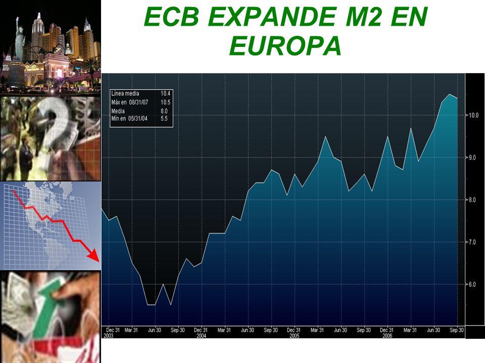 ECB EXPANDE M2 EN EUROPA