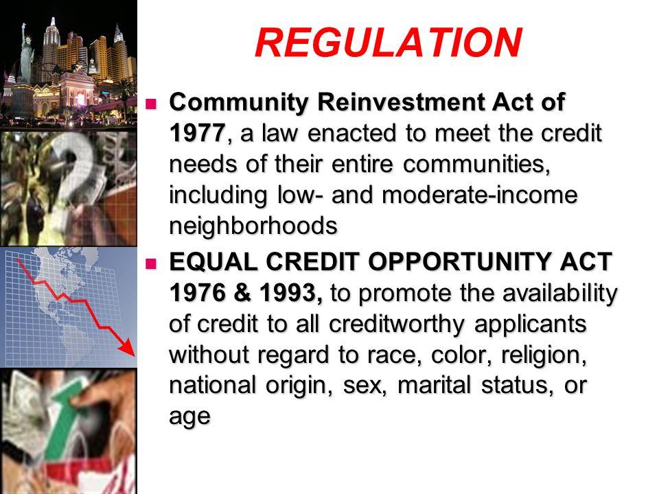 Publicacion de la Reserva Federal- Equal Opp Act- Sobrerregulacion.