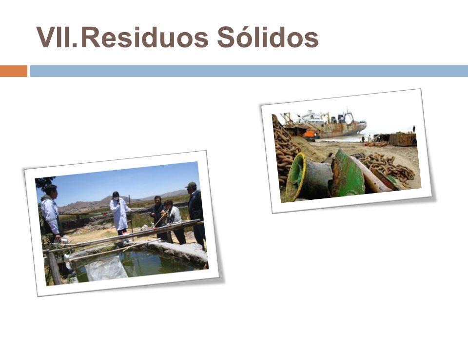 VII.Residuos Sólidos
