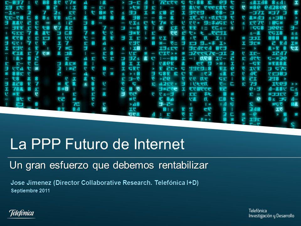 Telefonica I+D © 2010 Telefónica Investigación y Desarrollo