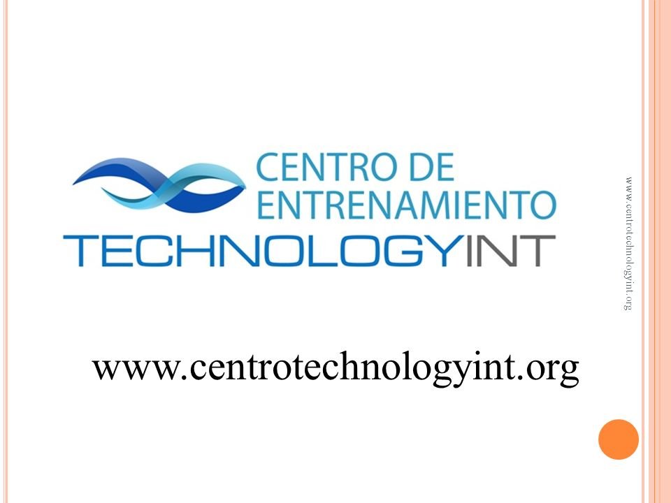 A NÁLISIS DE TENDENCIAS Se comparan razones financieras a través del tiempo www.centrotechnologyint.org