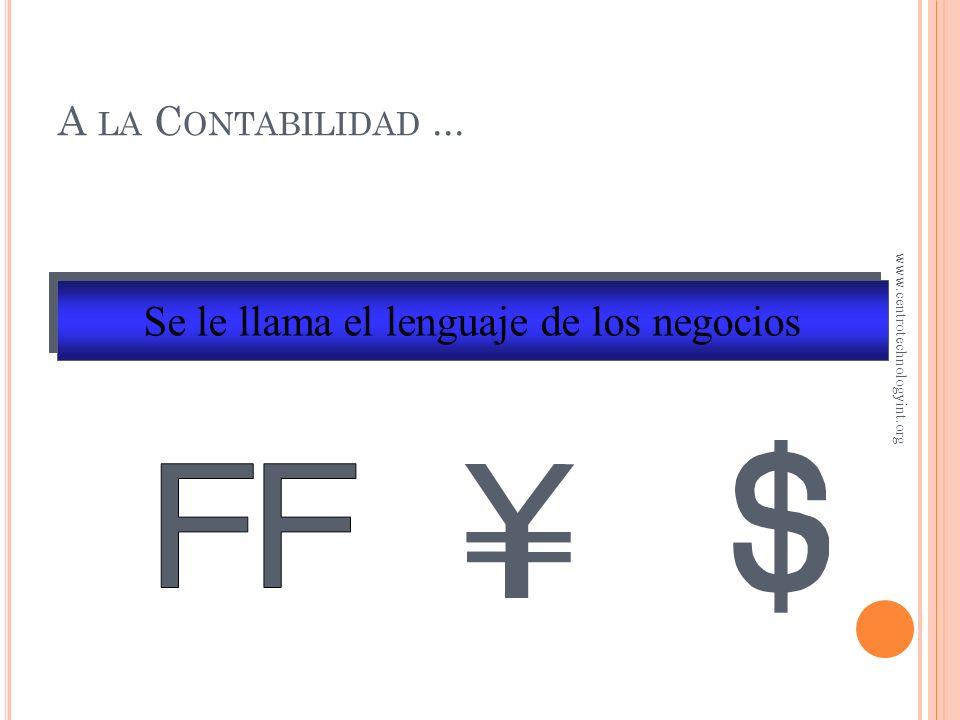 L A VENTAJA FISCAL DE UEPS Durante periodos de inflación, UEPS resulta en una utilidad menor; por lo tanto, en un menor impuesto a pagar www.centrotechnologyint.org