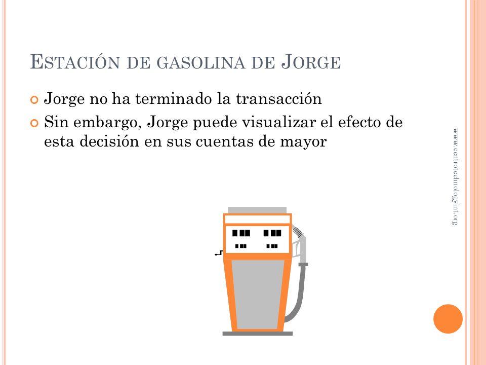 E STACIÓN DE GASOLINA DE J ORGE Jorge está considerando comprar un local por $600,000 o rentar uno por $60,000 al año Jorge no necesariamente registra