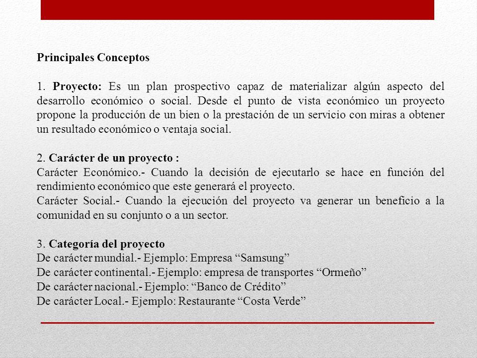 Principales Conceptos 1.