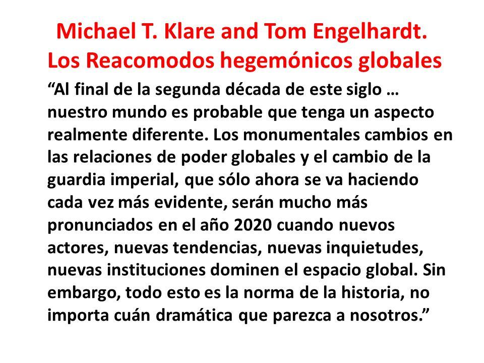 Michael T.Klare and Tom Engelhardt.