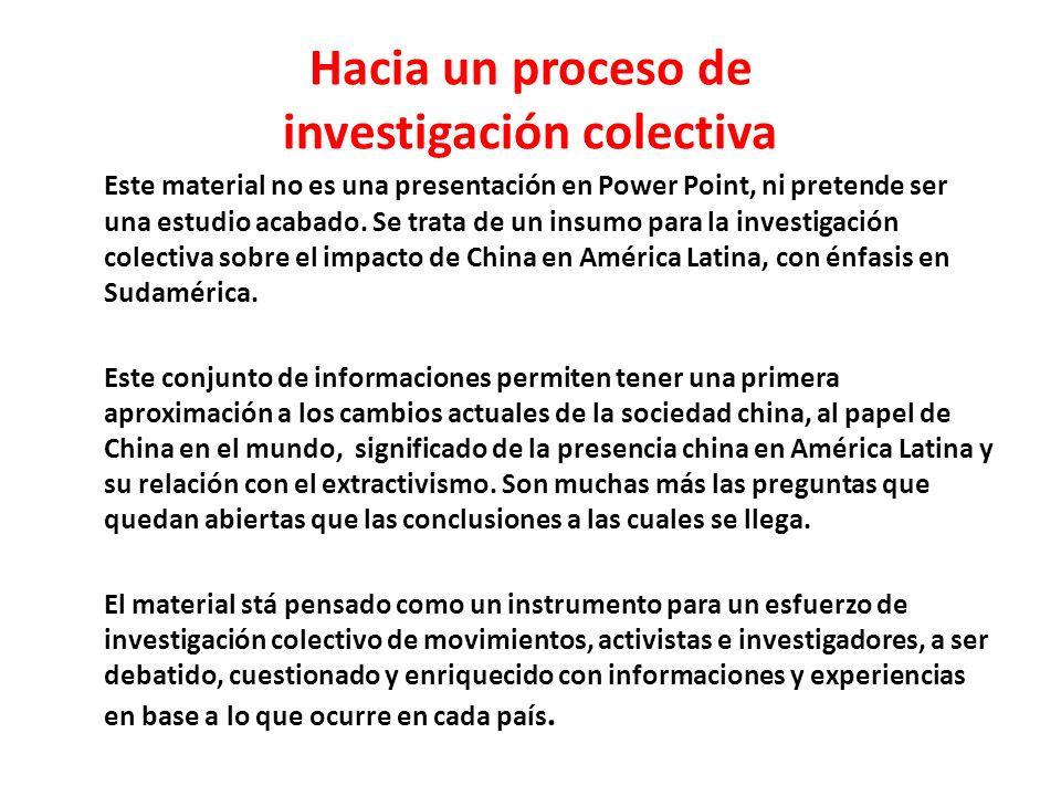 Reservas de Minerales Estratégicos de América Latina, China y E.U.A en relación la las Reservas Mundiales -2009 (Datos expresados en porcentajes)