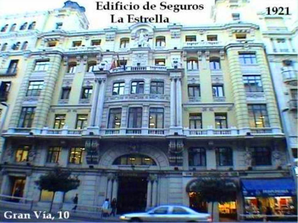 Edificio Plus Ultra 1913 Obra de Joaquñin Roji Plaza de las Cortes, 8