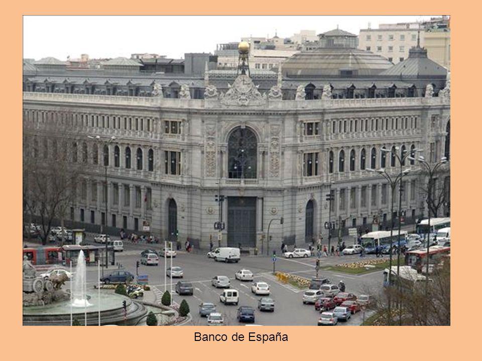 En pleno centro de Madrid, en la calle Alcalá, frente a la Cibeles, encontramos la sede del Banco de España. Y a sus pies, enterrada a 36 metros, una