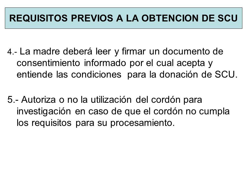 PROCESAMIENTO ANALITICAS: Hemograma de la bolsa de cordón pre y postfraccionamiento.
