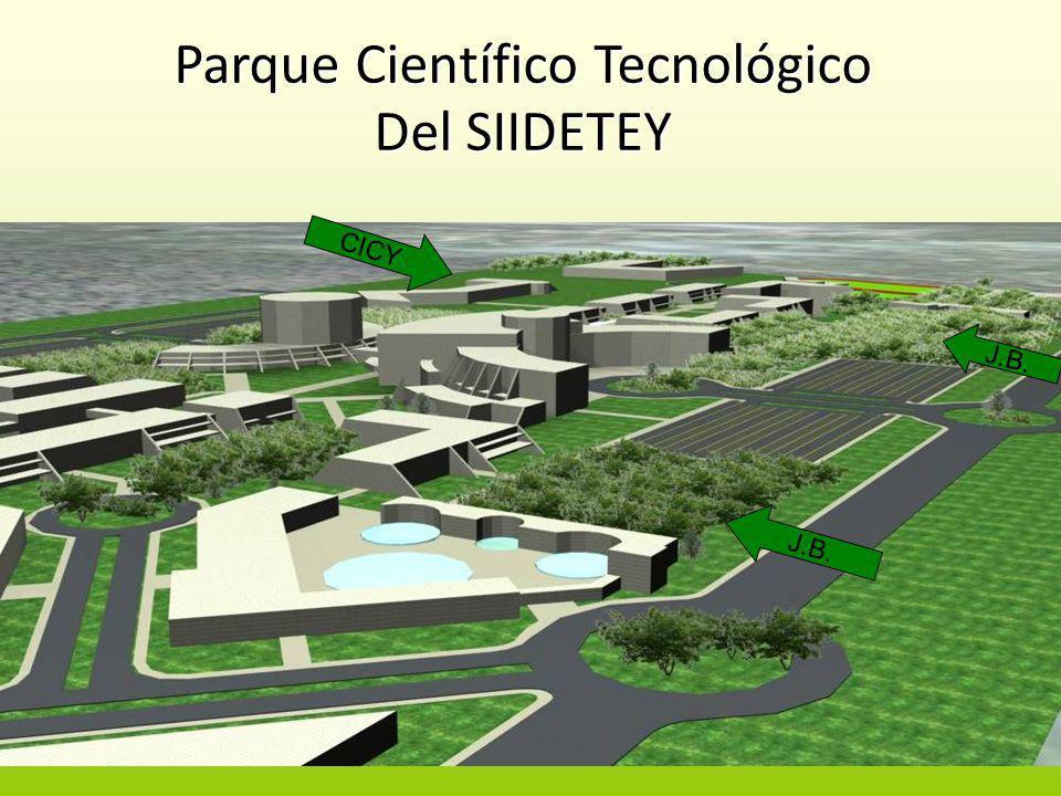 Parque Científico Tecnológico Del SIIDETEY CICY J.B.