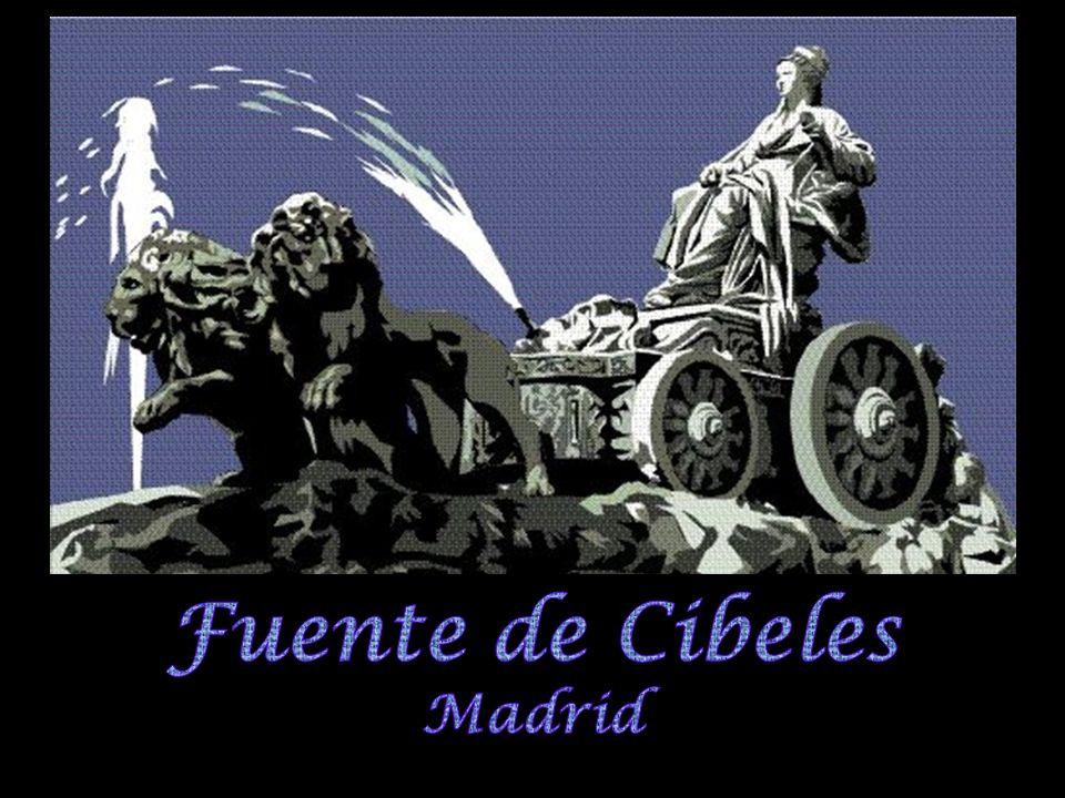 Durante la Guerra Civil Española, el bando republicano, que aún dominaba Madrid, cubrió la fuente de Cibeles para protegerla contra las bombas y disparos del bando enemigo (que ya habían causado deterioros en su brazo derecho, nariz y en el morro de uno de los leones), gracias a lo cual se evitaron daños mayores en el monumento.