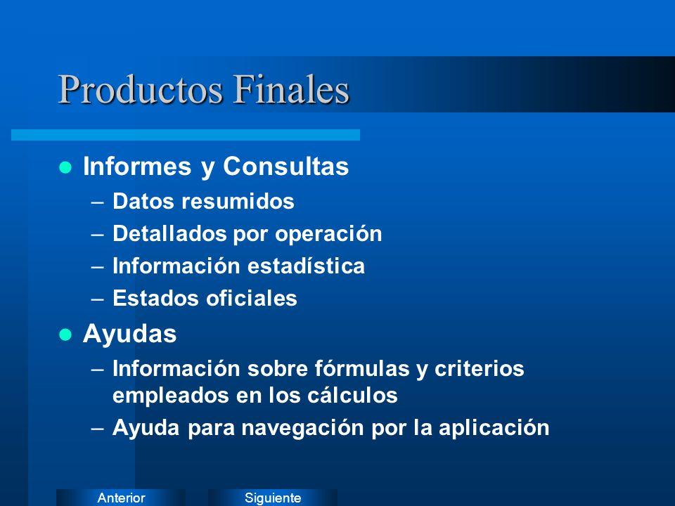 SiguienteAnterior Procesos Principales (VI)