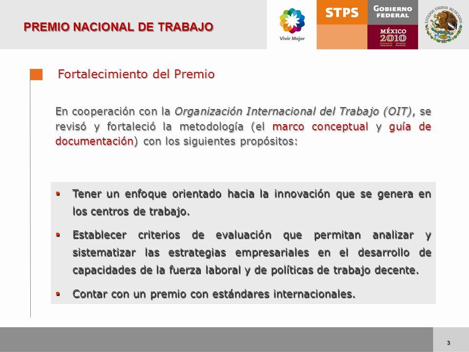3 3 En cooperación con la Organización Internacional del Trabajo (OIT), se revisó y fortaleció la metodología (el marco conceptual y guía de documenta