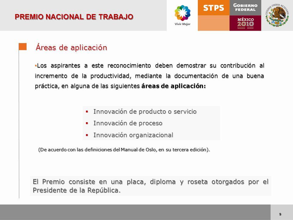 9 9 Innovación de producto o servicio Innovación de producto o servicio Innovación de proceso Innovación de proceso Innovación organizacional Innovaci
