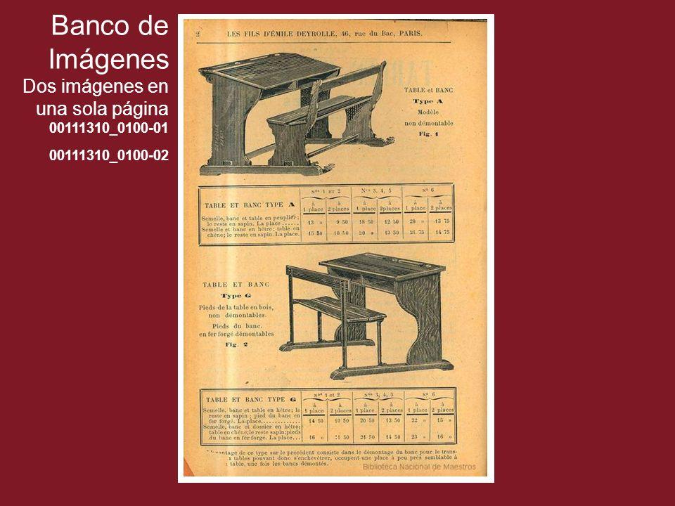 Banco de Imágenes Dos imágenes en una sola página 00111310_0100-01 00111310_0100-02