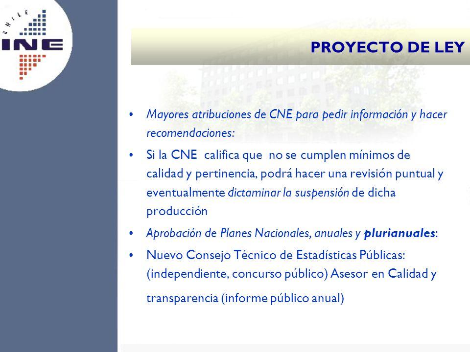 Mayores atribuciones de CNE para pedir información y hacer recomendaciones: Si la CNE califica que no se cumplen mínimos de calidad y pertinencia, pod