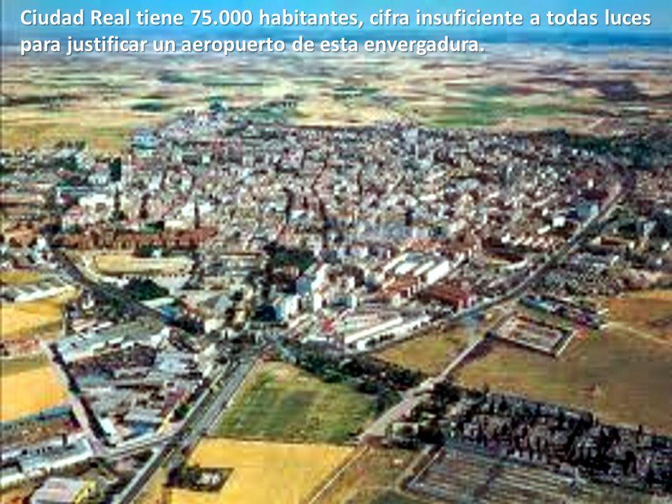 Ahora, la Junta de Castilla-La Mancha ha inyectado al aeropuerto 140 millones más, que irán a compensar las pérdidas enormes y constantes.