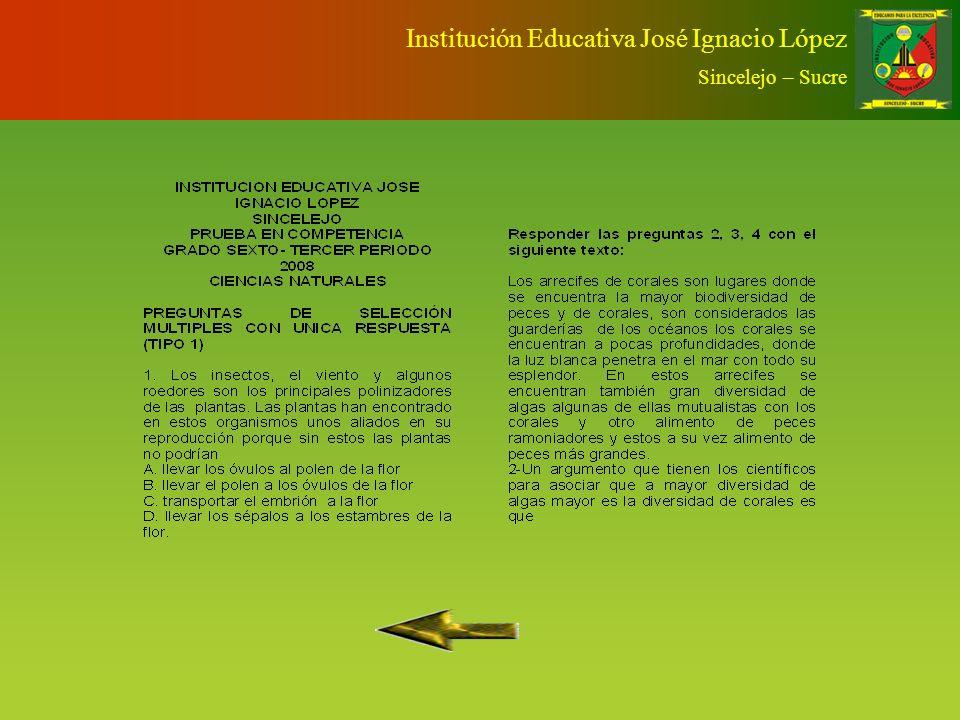 RETOS Sello de calidad para la evaluación como proceso inmerso del sistema de gestión de la calidad de la Institución Educativa José Ignacio López. Am