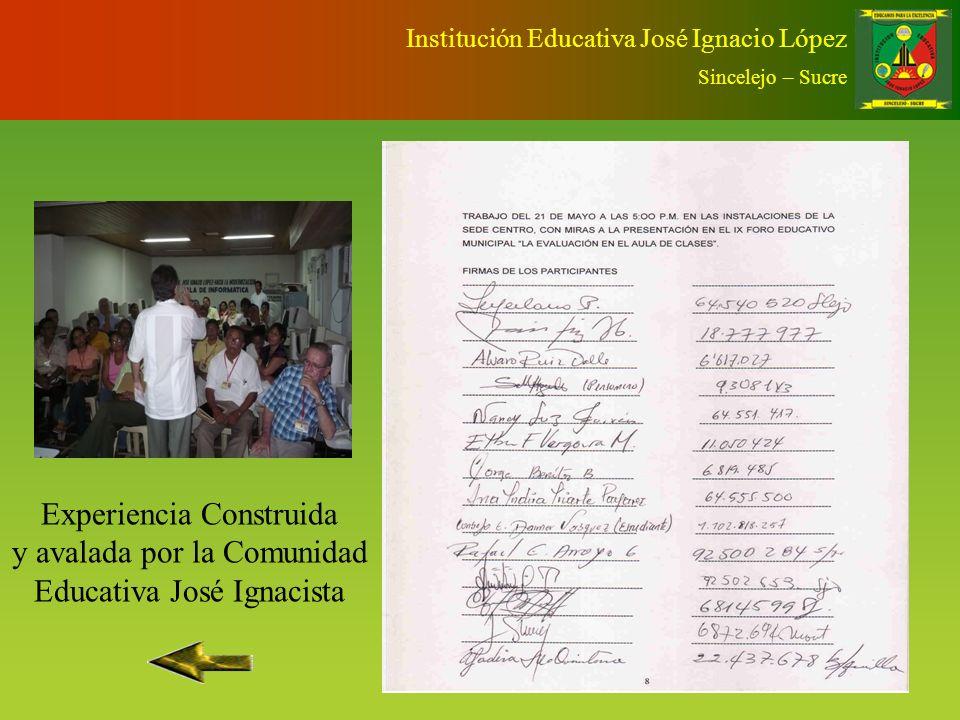 Institución Educativa José Ignacio López Sincelejo – Sucre