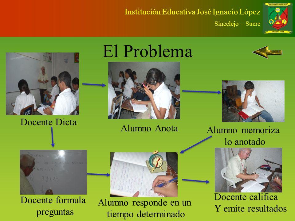 Institución Educativa José Ignacio López Sincelejo – Sucre InstituciónJOSÉ IGNACIO LÓPEZ SectorOFICIAL, URBANO Departamento /Municipio SUCRE / SINCELEJO Nombre de la Experiencia NUEVA CULTURA EVALUATIVA PARA EL MEJORAMIENTO DE LA CALIDAD EDUCATIVA Grados en que se desarrolla PRIMARIA, SECUNDARIA Y MEDIA Año de inicio2005