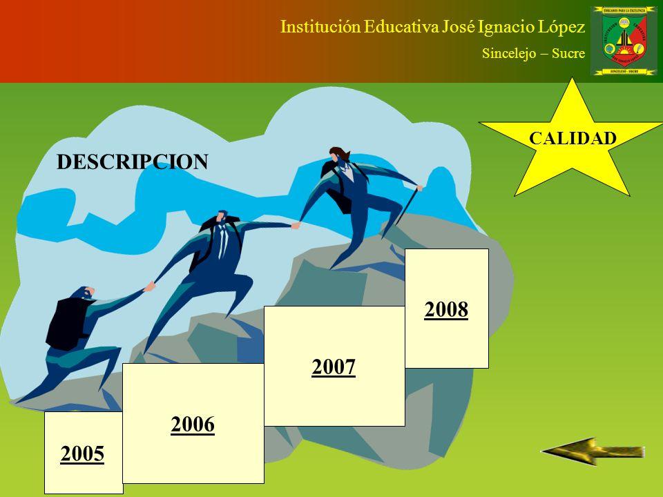 OBJETIVO DISEÑAR E IMPLEMENTAR UNA APLICACIÓN INFORMÁTICA QUE PROCESE LA APLICACIÓN DE LAS DIFERENTES ESTRATEGIAS EVALUATIVAS QUE SE PRODUCEN EN EL AULA Institución Educativa José Ignacio López Sincelejo – Sucre