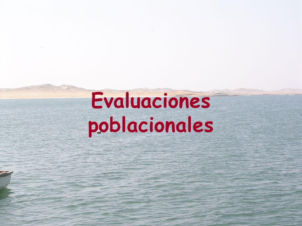 Estaciones bio-oceanográficas durante las evaluaciones de concha de abanico La Grama El Ñopo 1 2 3 4 5 6 7 8 9 10 11 12 13 14 15 16 17 18 19 20 21 22 23 24 25 26 27 2829 30 31 32 33 34 35 36 37 38 39 40 41 42 43 44 45 46 47 48 49 50 51 52 53 54 55 56 57 58 59 60 61 62 63 64 65 66 67 68 69 70 71 72 Pëña Negra Roca Blanca Juanchuquita Cabo Cruz Lobos de Tierra Isla Leyenda Estación biológica Estación oceanográfica