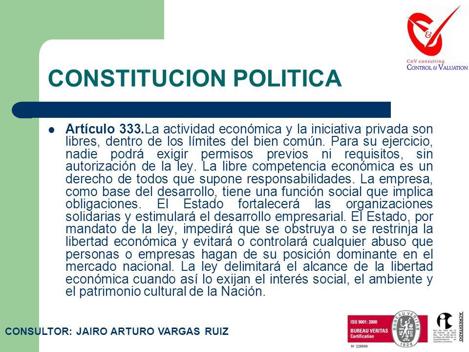 CONSTITUCION POLITICA Artículo 38.Se garantiza el derecho de libre asociación para el desarrollo de las distintas actividades que las personas realiza