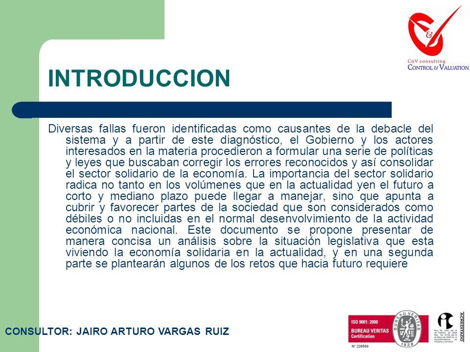 INTRODUCCION La crisis financiera y económica de finales de la década de los años 90, afectó seriamente varios rubros del aparato productivo colombian