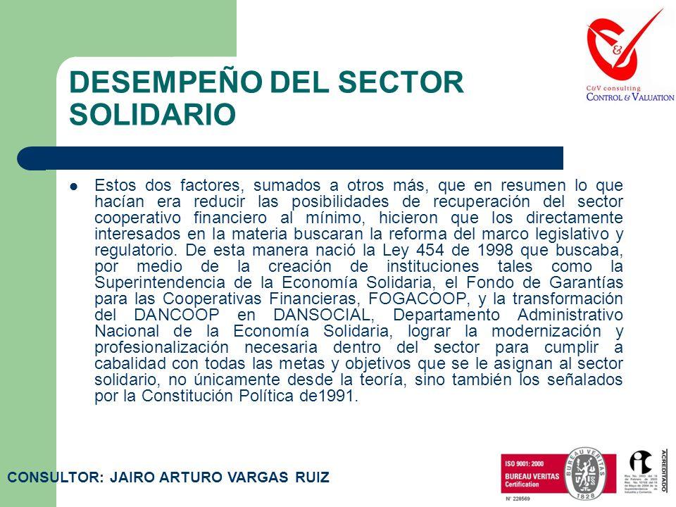 LEYES – LEY 454 DE 1998 Artículo 7.Del autocontrol de la economía solidaria.