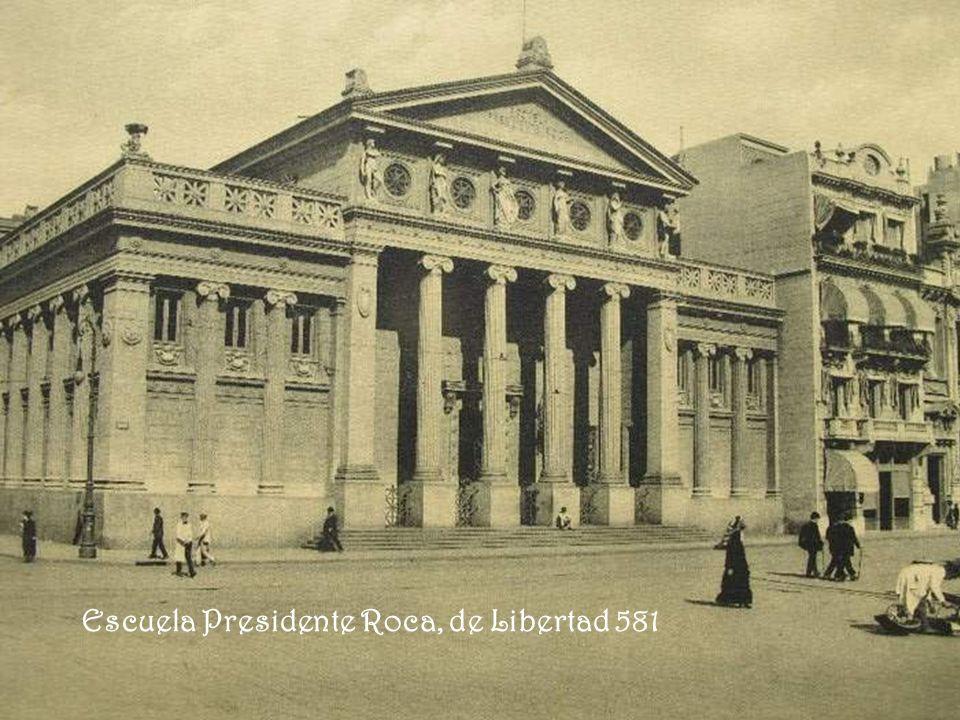 Escuela Presidente Roca, de Libertad 581