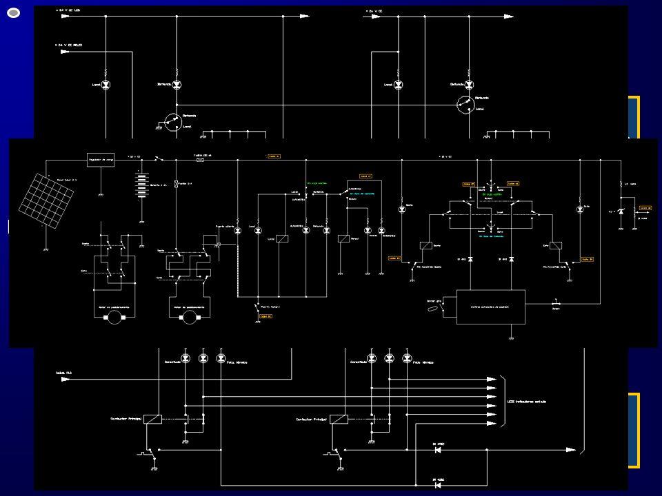 Automatización – simulación II Realización de los circuitos eléctricos para el accionamiento de: Interruptores simples, dobles, 1 1/2 y de acoplamient
