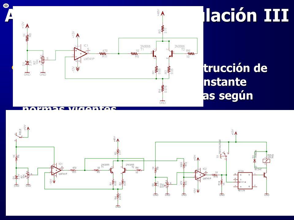 Automatización – simulación III 1° Etapa: diseño, ensayo y construcción de un descargador de Corriente Constante ajustable para ensayo de baterías seg