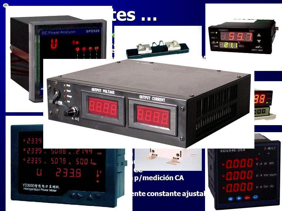 Otros aportes … Adquiridos en el mercado Argentino: 1 transformador trifásico 1,8 kVA 1 transformador trifásico 1,8 kVA 1 banco de transformadores SCO