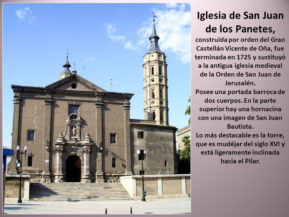 Casa palacio construida entre 1659 y 1661, de estilo aragonés. Declarado Monumento Nacional en 1943. Actualmente alberga el Museo Pablo Gargallo.