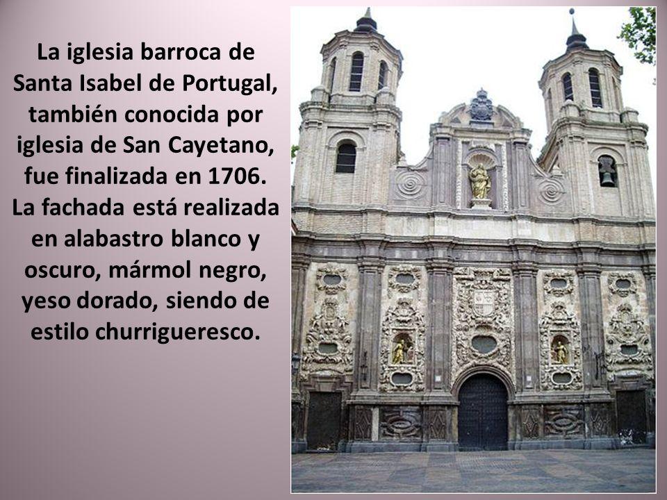 Iglesia de San Juan de los Panetes, construida por orden del Gran Castellán Vicente de Oña, fue terminada en 1725 y sustituyó a la antigua iglesia med