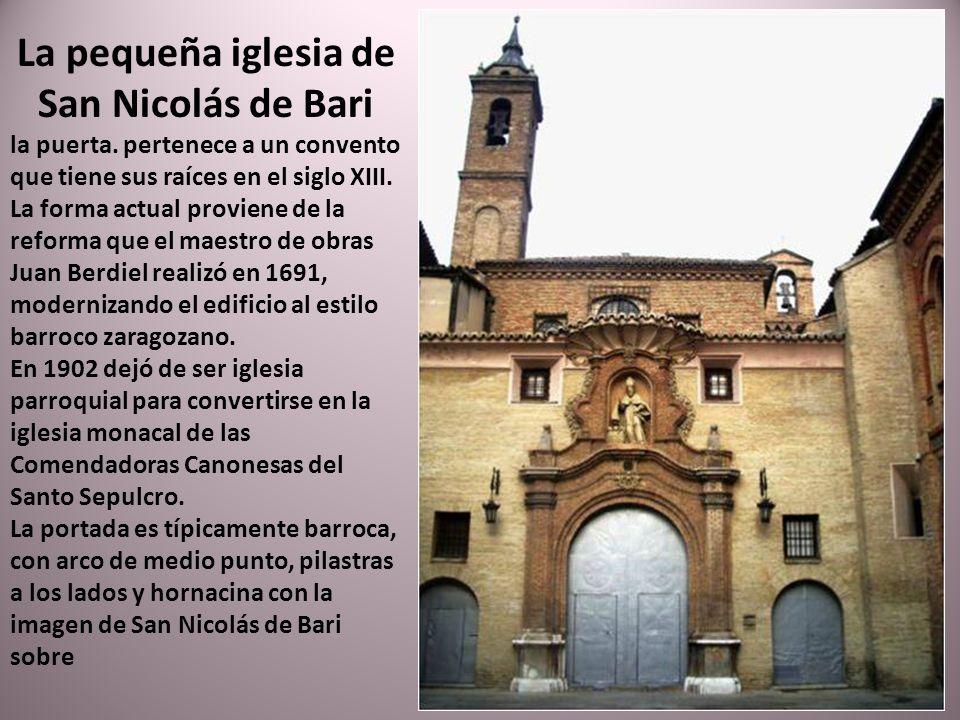 Iglesia parroquial de San Ildefonso o de Santiago el Mayor. La iglesia es lo único que se ha conservado del convento dominico de San Ildefonso, que fu