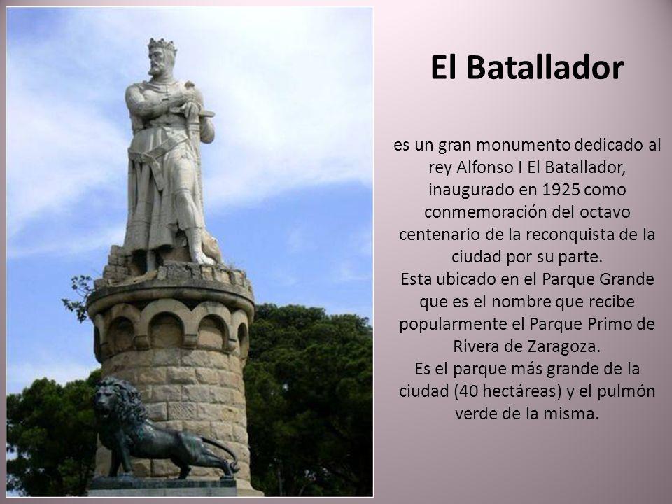 La culminación de las obras del Canal Imperial de Aragón en 1784 fueron conmemoradas con la construcción de esta fuente en 1786 para desengañar a quie